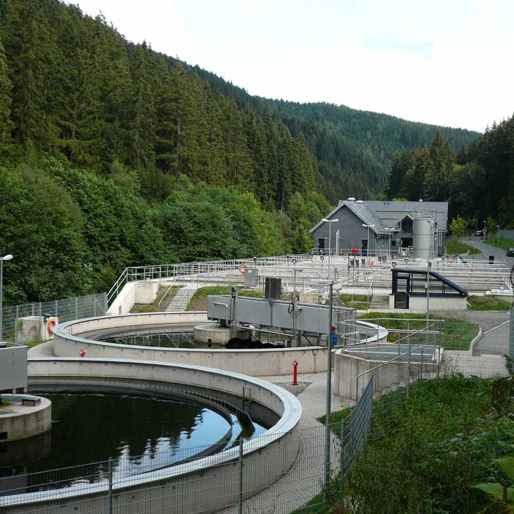Water treatment plant Lichte