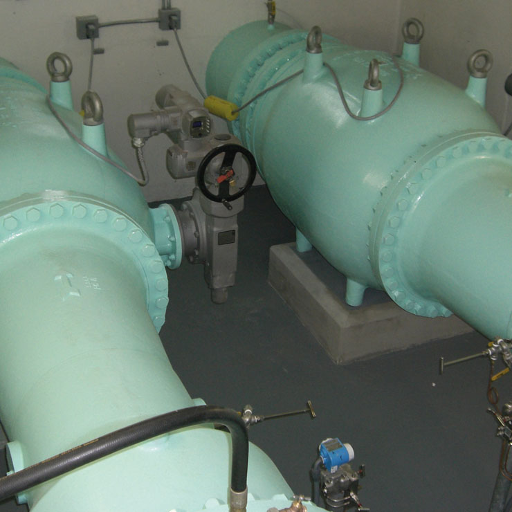 VAG Plunger Valves successfully reduce vibration and cavitation in San Diego's Water Supply System
