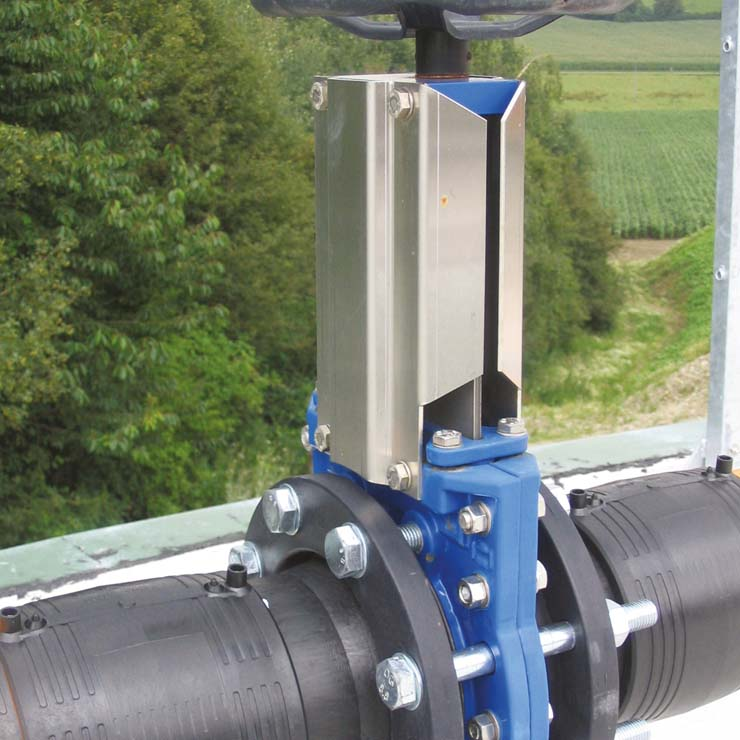 VAG ZETA® Knife Gate Valves make green energy more efficient