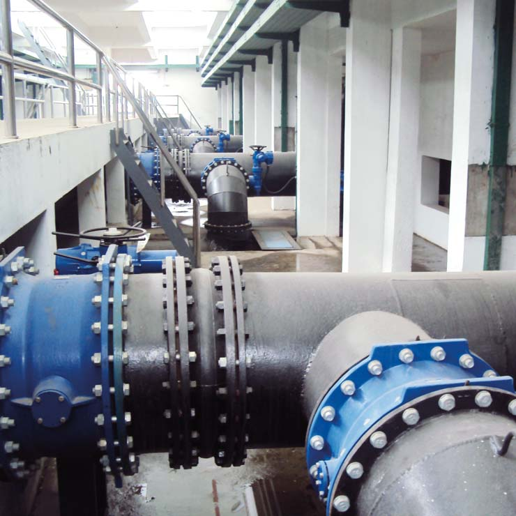 Wuxi water treatment plant