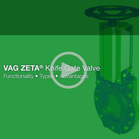 VAG ZETA Knife Gate Valve